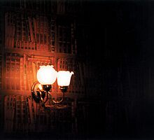 Book Sconce by Jay Gross