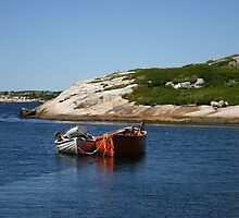 Fishing Boats by Alyce Taylor