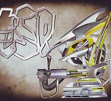 """""""ESP....Robo-boys adventures into hyper...reality""""....... by atomikboy"""