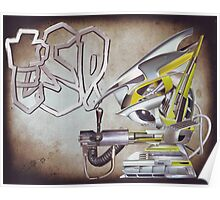 """""""ESP....Robo-boys adventures into hyper...reality""""....... Poster"""