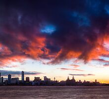 Liverpool: Sky On Fire by William Lee