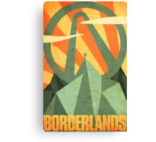 Borderlands Canvas Print