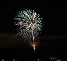 Fireworks Pentwater Michigan 2008 by deldodds