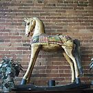 Wooden Rocking Horse by Debbi Tannock