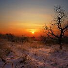 Winter sunrise by Karl Smutko