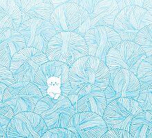 Yarn Ball Pit by Corinna Djaferis