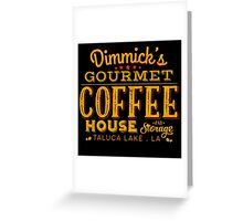 Coffee & Storage Greeting Card