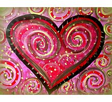 Open your heart! Photographic Print