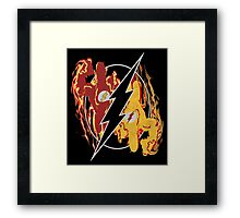 Flashpoint Paradox (black) Framed Print