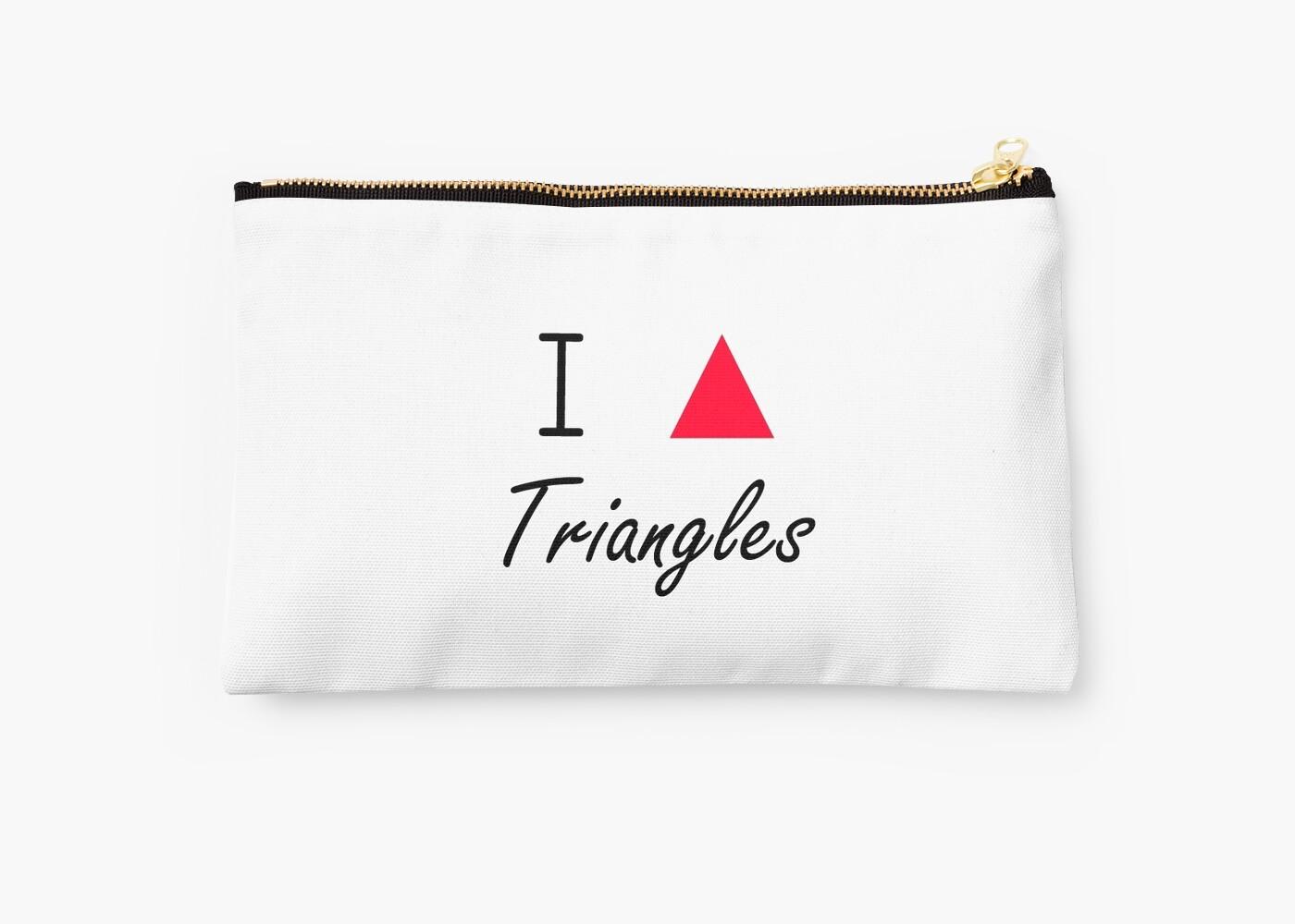 I love Triangles by Prettyinpinks