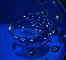 Blue Bubble by Bradley Old