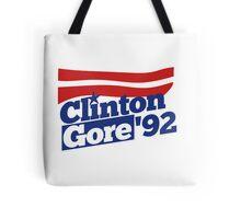 Clinton Gore 92 Tote Bag