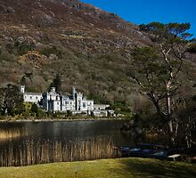 Kylemore Abbey, Lough & Boat by damokeen