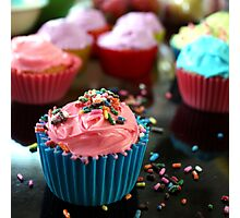 Can You Sprinkle My Cupcake Photographic Print