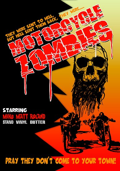 Motorcycle Zombies by Steve Harvey