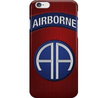 Android Airborne Patch iPhone Case/Skin