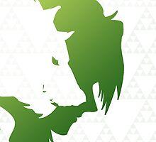The Hero of Twilight - Legend of Zelda by CuriousityShop