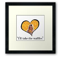 I'll Take The Waffles Framed Print