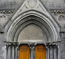 Gothic Doorway by Orla Cahill