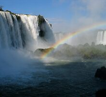 Iguazu Falls, Argentina by Grant Forbes