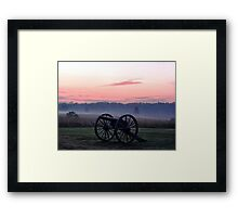 Early Morning on the Chambersburg Pike Framed Print
