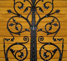 Decorative Gothic Hinge  by Orla Cahill
