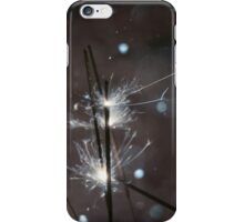 Sparkler and snow 4 iPhone Case/Skin