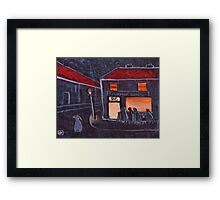 Fish and Chip Shop Framed Print
