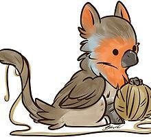 Li'l Birdie Griffin - European Robin by BlacksSideshow