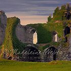 Historical Ballycarbery Castle HDR, Cahirciveen County Kerry, Ireland by Madeleine  Weber