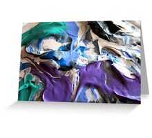 Abstract Artwork - Illusion of Texture  Greeting Card