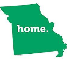 Missouri Home Green Photographic Print