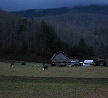 Nightfall on the Farm by Blaze66
