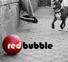 Red Bubble Roxy  by eelsblueEllen
