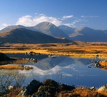 The Blackmount, Rannoch Moor, Highlands of Scotland. by photosecosse /barbara jones