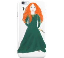 Young Merida iPhone Case/Skin