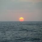 "Just Another Sunset  Caribbean #3 - From deck of RCI Mariner of the Seas by Edmond J. [""Skip""] O'Neill"