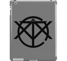 Octivity Black Logo Design iPad Case/Skin