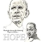 AUDACITY of HOPE by Larry Holmes