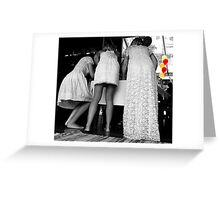Finishing Touches Greeting Card