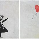 Girl with Balloon - Banksy by Nicola King