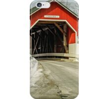 Carlton Covered Bridge - Swanzey - New Hampshire - USA iPhone Case/Skin