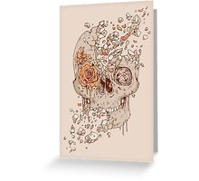 Disintegrate (A Violent Decay): The Fragile Intensity of Existence Greeting Card