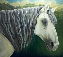 Rocco the Renaissance Horse by Loretta  Weeks