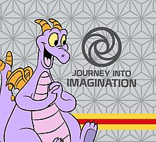 Journey Into Imagination Figment by Jou Ling Yee