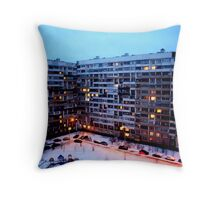 City Glitter Throw Pillow