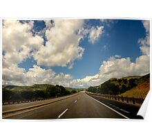 New Mexico USA Road & Sky Poster