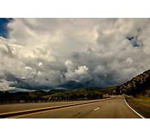 New Mexico USA Storm Ahead Photographic Print