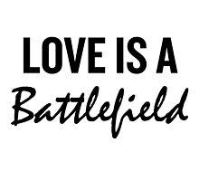 LOVE IS A BATTLEFIELD  by urxanus
