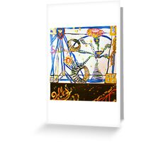 Dolles and SeaDragon Sittin... Greeting Card